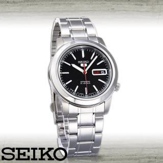 【SEIKO 精工】全日製-盾牌5號機械錶(SNKE53J1)