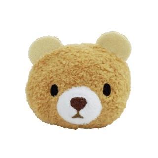 【UNIQUE】動物樂園公仔螢幕擦護腕墊(小棕熊)