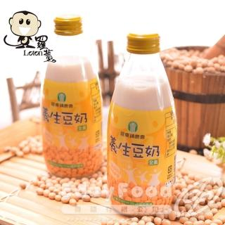 【羅東農會】羅董養生豆奶 24瓶(245ml/瓶)