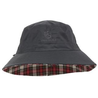 【Vital Silver 銀盾】VITAL-TEX透濕雙面時尚漁夫防水帽(橄欖綠-卡其格)