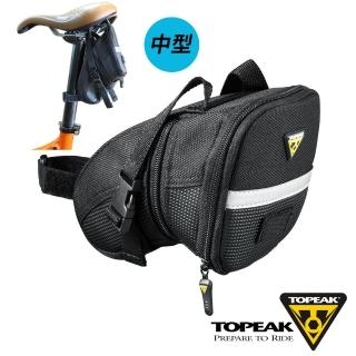 【TOPEAK】Aero Wedge Pack Medium後座墊袋 中(黑)