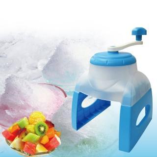 【真心良品】冰島雪花刨冰機(附製冰盒4入)