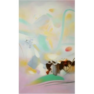 【Luis Colomer-手繪油畫】西班牙畫家原作﹍抽象畫掛畫(光之宴58)