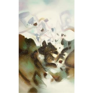 【Luis Colomer-手繪油畫】西班牙畫家原作 抽象畫掛畫(光之宴57)