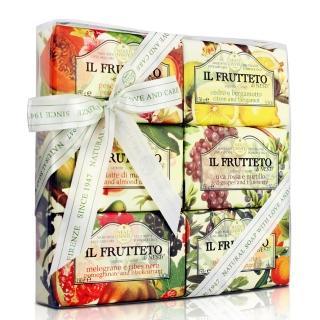 【Nesti Dante  義大利手工皂】天然鮮果禮盒(150g×6入)