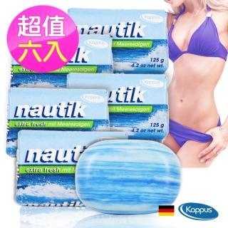 【德國Kappus】海藻墨角藻嫩白美體皂6入組(空運到貨)