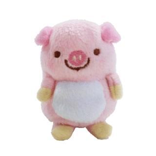 【UNIQUE】動物樂園沙包小公仔(粉紅豬)