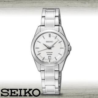 【SEIKO 精工】藍寶石水晶玻璃優雅時尚女錶(SXDF55P1)