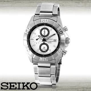 【SEIKO 精工】專業賽車運動腕錶(SNA655P1)