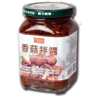【康健生機】香菇拌醬(380g/罐)
