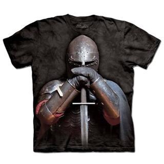 【摩達客】美國進口The Mountain 盔甲騎士 設計T恤(現貨)