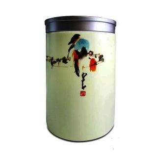 【原藝坊】陶瓷密封直身茶葉罐A--翠啼春曉