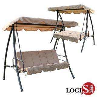 【LOGIS】吉羅列兩用鞦韆搖床 / 躺椅