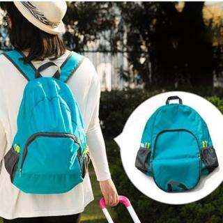 【PS Mall】旅行必備可折疊雙肩包多功能旅行背包(J1931)