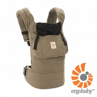 【ERGObaby】爾哥寶寶嬰童背巾原創款-大地色(公司貨)