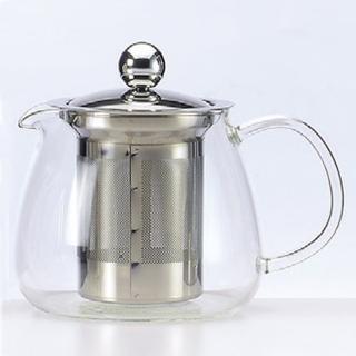 【SYG】耐熱玻璃花茶壺(570ml)