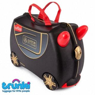 【英國Trunki】兒童專用輪式可騎乘行李箱-F1賽車特別款 #Lotus