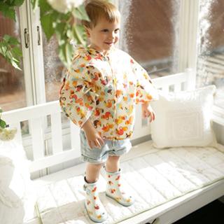 【Kinderspel】水滴精靈-寶貝小雨靴(呱呱大嘴鳥)