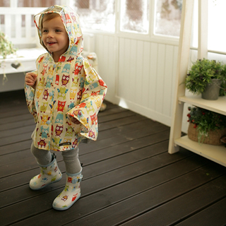 【Kinderspel】水滴精靈-寶貝小雨靴(搗蛋貓頭鷹)