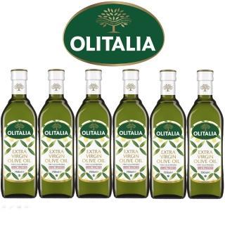 【Olitalia奧利塔】超值特級冷壓橄欖油禮盒組(750mlx6瓶)