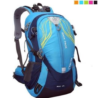 【PUSH! 戶外休閒登山用品】40L 登山包 背包 騎行包(可放安全帽)