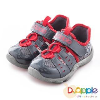 【Dr. Apple 機能童鞋】俐落大人風舒適透氣童鞋(灰)