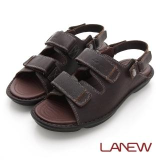 【La new】雙密度氣墊涼鞋(男216055120)