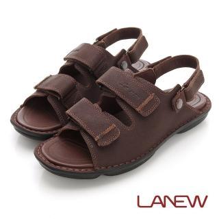 【La new】雙密度氣墊涼鞋(男216055121)