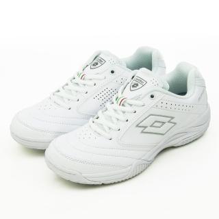 【LOTTO】女-多功能運動鞋 白色學生鞋 ROMA(白 2069)
