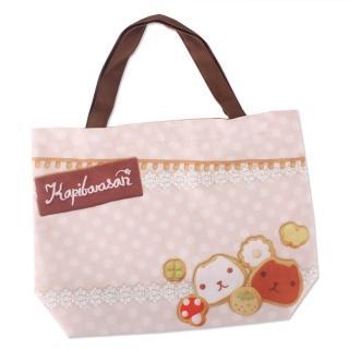 【kapibarasan】水豚君餅乾系列手提袋(大)