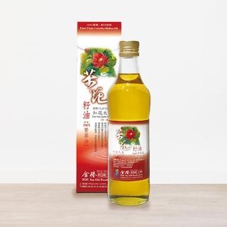 【金椿茶油工坊】紅花大果苦茶油(500ml*2)