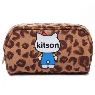 【Kitson】kitson x Ribbon Hello Kitty Pouch(豹紋)