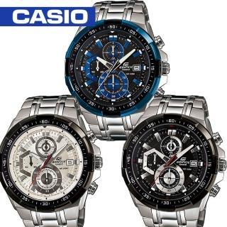 【CASIO 卡西歐 EDIFICE 系列】造型海洋計時賽車男錶(EFR-539D)