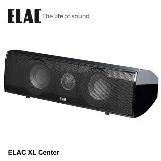 【ELAC】德國精品中置揚聲器-支(XL Center)