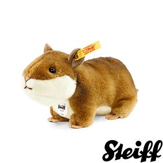 【STEIFF德國金耳釦泰迪熊】Goldy Hamster 倉鼠(動物王國)