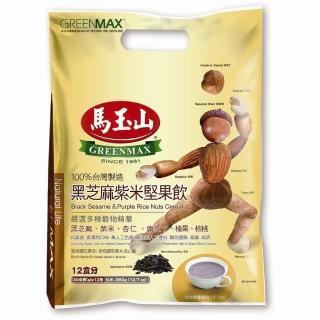 【馬玉山】黑芝麻紫米堅果飲12入
