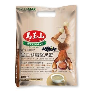 【馬玉山】黑豆多穀堅果飲12入