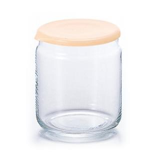 【ADERIA】日本進口收納玻璃680ml(橘)