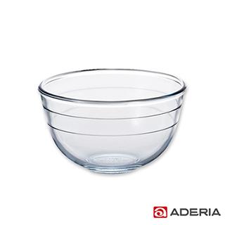 【ADERIA】日本進口耐熱玻璃沙拉碗(中)