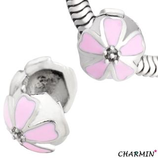 【E&I】CHARMIN 時尚創意手鍊 浪漫花語 316L白鋼造型吊墬