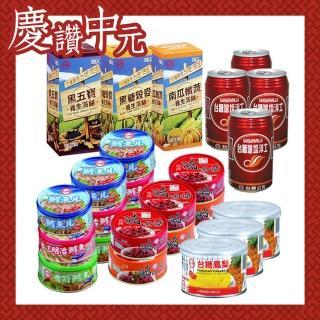 【台糖】中元普渡方便組(加鹽沙士/薄餅/鳳梨罐頭/豬肉醬)