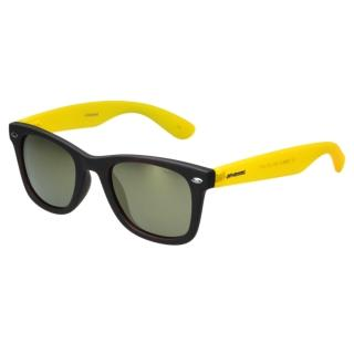 【Polaroid 寶麗萊】-偏光太陽眼鏡(琥珀+反光鏡片)