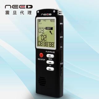 【NEED尼德】8GB學習型數位錄音筆(AX-710-BK)