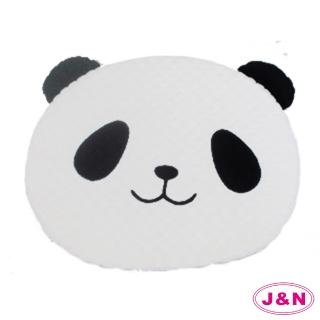 【J&N】熊貓造型坐墊(1入)