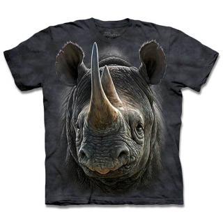 【摩達客】美國進口The Mountain 黑犀牛 設計T恤(現貨)