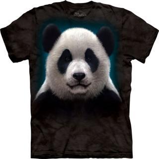 【摩達客】美國進口The Mountain 熊貓頭 設計T恤(現貨)