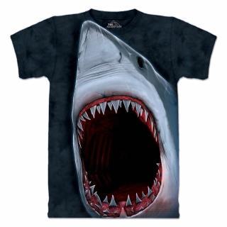 【摩達客】美國進口The Mountain 鯊魚口 設計T恤(現貨)
