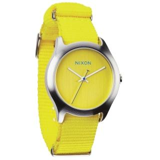 【NIXON】MOD 戶外冒險休閒腕錶-黃(A3481599)