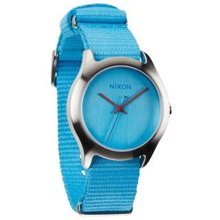 【NIXON】MOD 戶外冒險休閒腕錶-水藍(A348606)