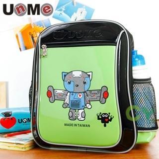 【UnMe】機器人輕量後背書包(草綠色)